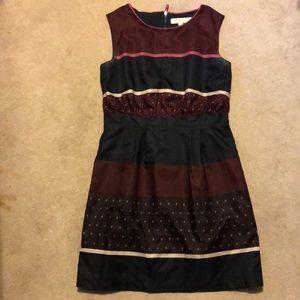 Patterned Work Dress